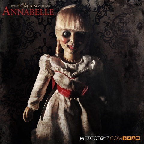 The Conjuring: Annabelle 18 inch Prop Replica Doll - Mezcotoys