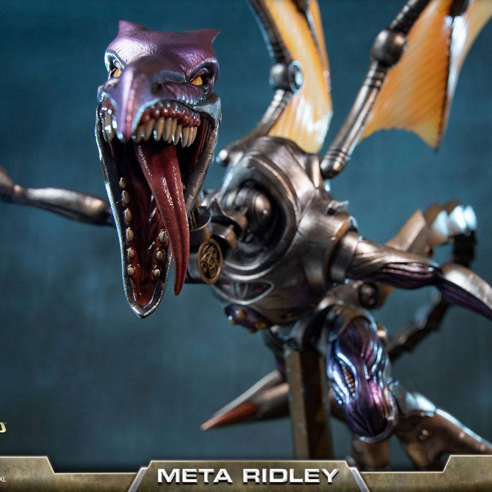 Metroid Prime: Meta Ridley Statue - First 4 Figures