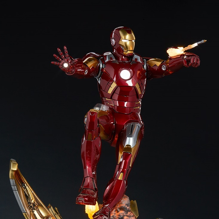 Marvel: The Avengers - Iron Man Mark VII Maquette - Sideshow Toys
