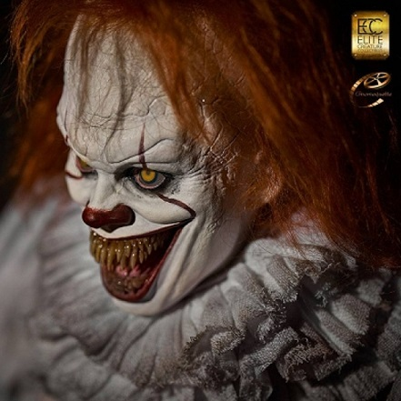 IT: Pennywise 1:3 scale Maquette - Elite Creature Collectibles